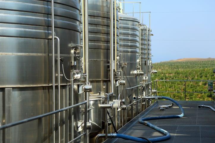 winemaking cisterns