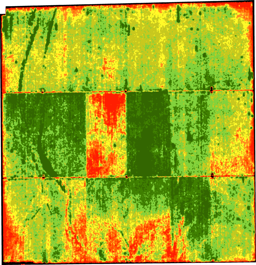 Irrigation issue in NDVI